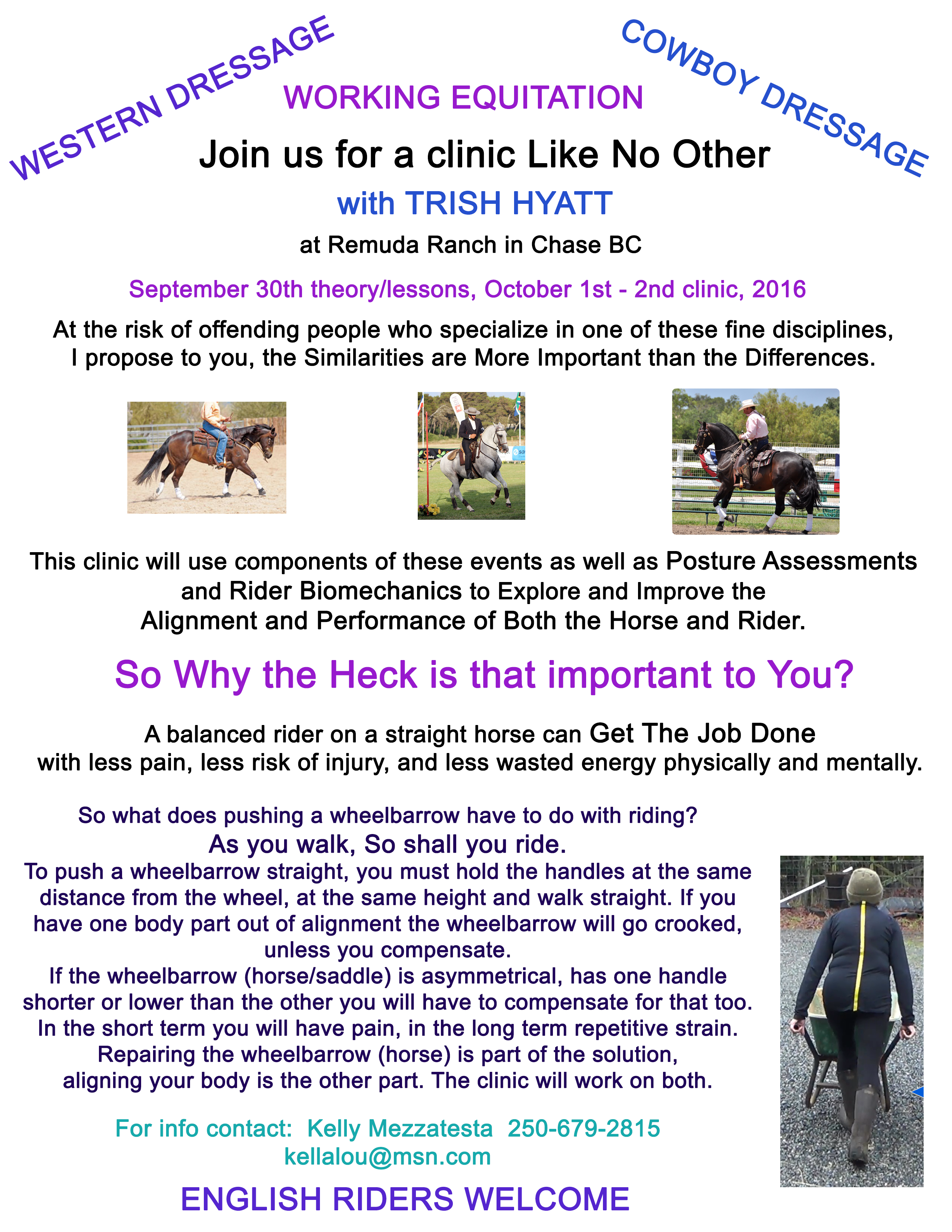 May 2016 Clinic in Chase